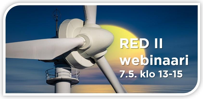 RED II webinaariin liittyvä kuvituskuva